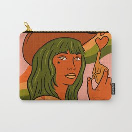 She's Trouble Carry-All Pouch
