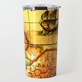 map sea Travel Mug