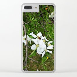 Collecting Pollen Clear iPhone Case