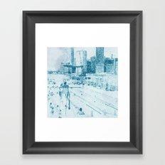 swimmingpool 1 Framed Art Print