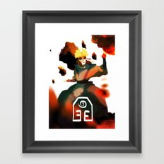 Avatar Kyoshi II Framed Art Print
