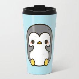 Shy penguin Travel Mug