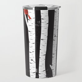 Northern Cardinal Birds Travel Mug