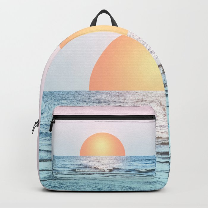 Untypical sunset II Backpack