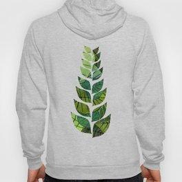 Leaf Pattern Hoody