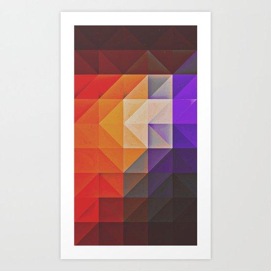 pyncyl nyck Art Print