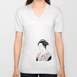 Japanese Inspired Unisex V-Neck