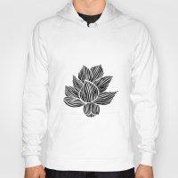 lotus flower Hoodies featuring Lotus by MollySkipsey