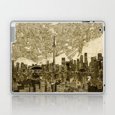 toronto city skyline Laptop & iPad Skin
