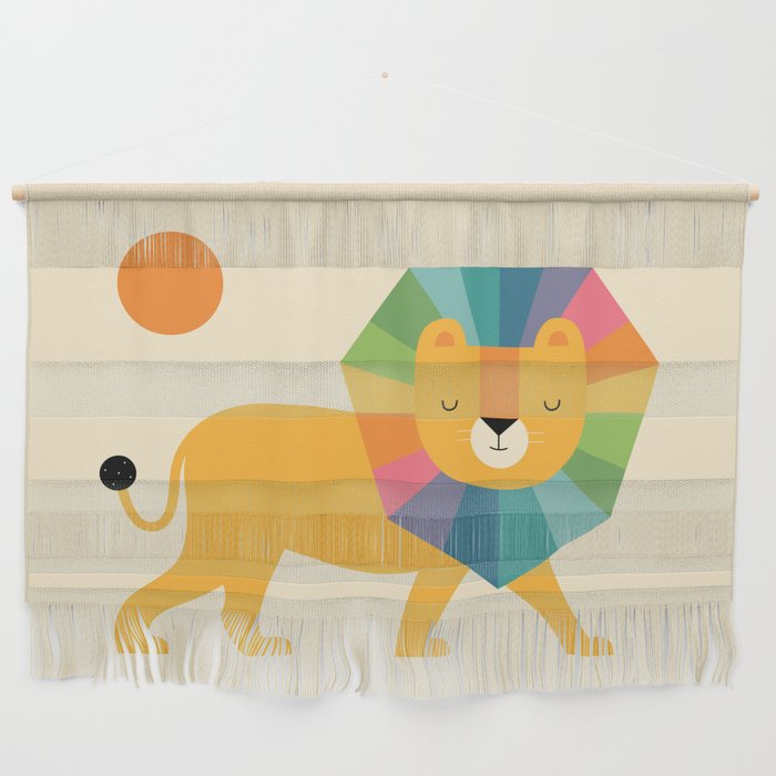 Lion Shine Wall Hanging