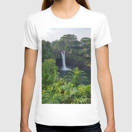 Rainbow Falls in Hawaii T-shirt