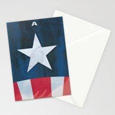 Captain America Minimal Stationery Cards