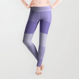 Four Shades of Lavender Leggings