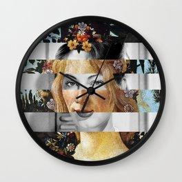 Sandro Botticelli's Flora & Ava Gardner Wall Clock