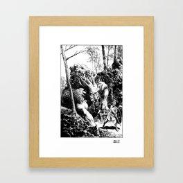 Troll Framed Art Print