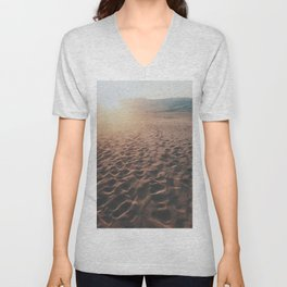Desert Footprints Unisex V-Neck