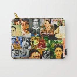 Obsessed with Frida Kahlo Carry-All Pouch