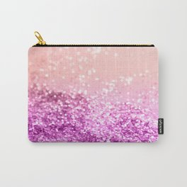 Tropical Summer Lady Glitter #1 #shiny #decor #art #society6 Carry-All Pouch