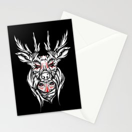 Mother nature deer Stationery Cards