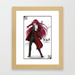 Grell : Red Death Framed Art Print