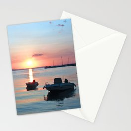 Little Port of Croatia Stationery Cards