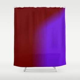 Ombre In Burgundy Purple Shower Curtain
