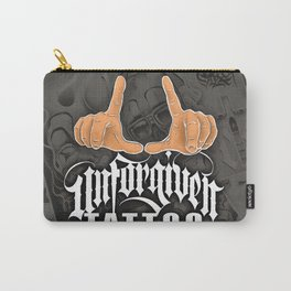 Unforgiven Tattoo Flash Carry-All Pouch