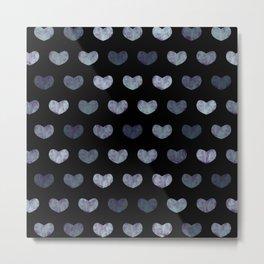 Cute Hearts Metal Print