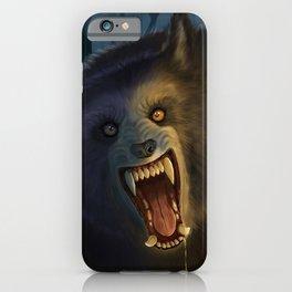 Moonlit Werewolf iPhone Case