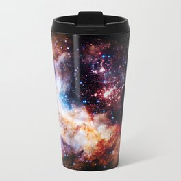 gALaxy : Celestial Fireworks Metal Travel Mug