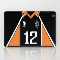 haikyuu iPad Cases featuring Haikyuu!! - Yamaguchi Tadashi #12   ハイキュー‼ - 山口忠 #12 by RHE:BORN