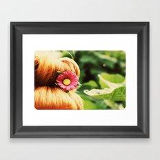 Ginger Bun Framed Art Print