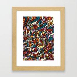 Jammin' Good Framed Art Print
