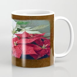 Mixed color Poinsettias 3 Blank P3F0 Coffee Mug