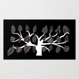 Pipettu - Eating Leaves (Spread 4 of 10) Art Print