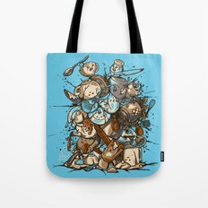 Kitchen Fight Tote Bag