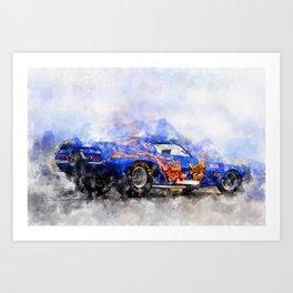 Jim Liberman, Jungle Jim Art Print