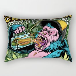 Drink Craft Beer Rectangular Pillow
