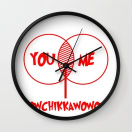 You Me Funny Lovemaking Coitus Act Copulation Gift Wall Clock