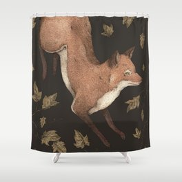 The Fox and Ivy Shower Curtain