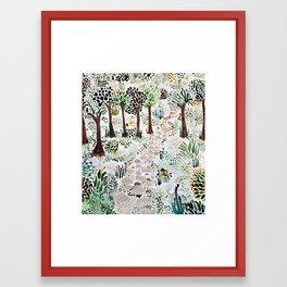 so. Framed Art Print
