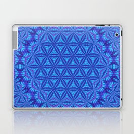 Vibrating Flower of Life Laptop & iPad Skin