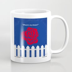 No170 My BLUE VELVET minimal movie poster Mug
