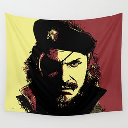 Big Boss (naked snake from metal gear solid) Wall Tapestry