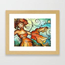 Cubana Mama Framed Art Print