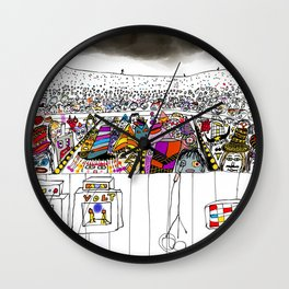 sold out show Wall Clock