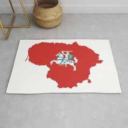 Knight Map Rug