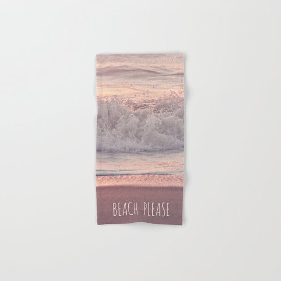 BEACH PLEASE Hand & Bath Towel
