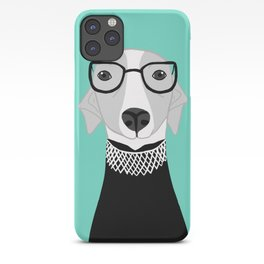 Ruth Bader Ginsburg Greyhound iPhone Case
