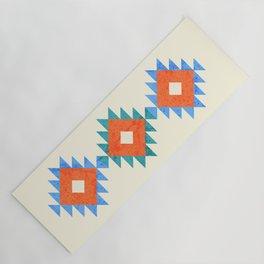 geometry navajo pattern no3 Yoga Mat